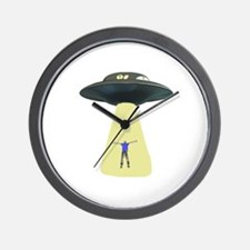 UFO Out of this world Wall Clock