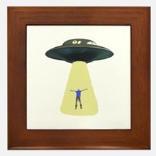 UFO Out of this world Framed Tile