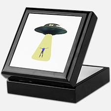 UFO Out of this world Keepsake Box