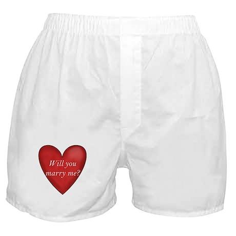 Marry Me Boxer Shorts