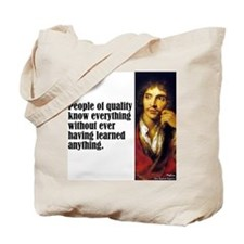 "Moliere ""Quality"" Tote Bag"