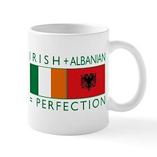 Irish Albanian heritage flag Mug