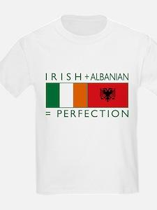 Irish Albanian heritage flag T-Shirt