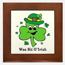 Wee Bit O' Irish Framed Tile