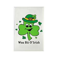 Wee Bit O' Irish Rectangle Magnet