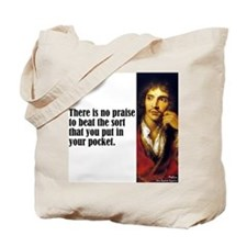 "Moliere ""Praise"" Tote Bag"
