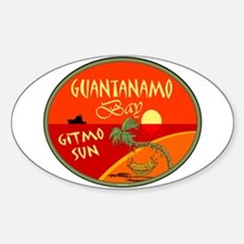 Guantanamo Bay Oval Decal