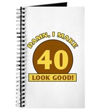 40th Birthday Gag Gift Journal