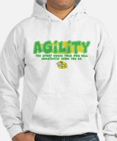 Dog is Better Agility Jumper Hoody