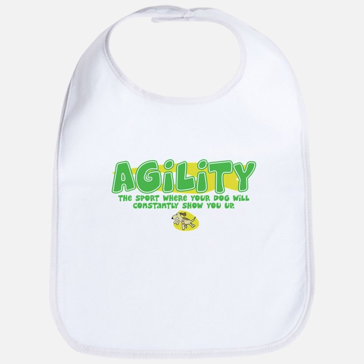 Dog is Better Agility Bib