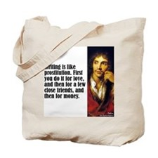 "Moliere ""Writing"" Tote Bag"