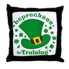 Leprechaun In Training Throw Pillow