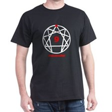 Enneagram 9 w text White T-Shirt