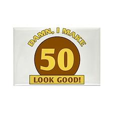 50th Birthday Gag Gift Rectangle Magnet