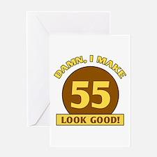55th Birthday Gag Gift Greeting Card