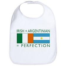 Irish Argentinian flag Bib