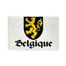 Belgium: Heraldic Rectangle Magnet (100 pack)