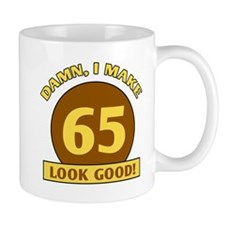 65th Birthday Gag Gift Mug