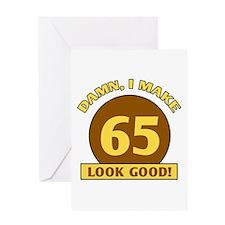 65th Birthday Gag Gift Greeting Card