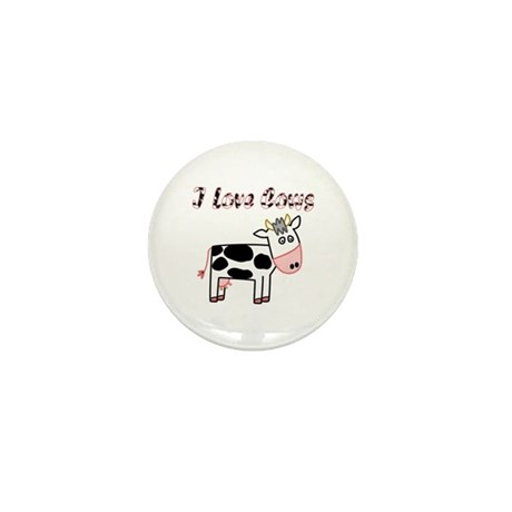 Cow Mini Button (100 pack)