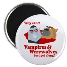 Why can't Vampires and Werewolves get along? Magne