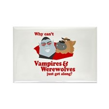 Why can't Vampires and Werewolves get along? Recta