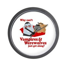 Why can't Vampires and Werewolves get along? Wall