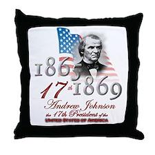 17th President - Throw Pillow