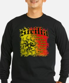 The 9 Provinces of Sicily T