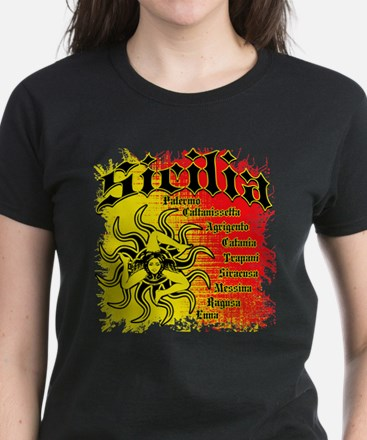 The 9 Provinces of Sicily Tee