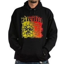 The 9 Provinces of Sicily Hoodie
