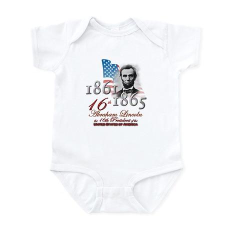 16th President - Infant Bodysuit