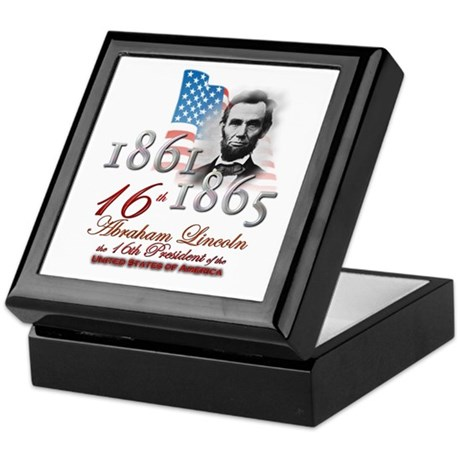 16th President - Keepsake Box