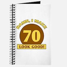 70th Birthday Gag Gift Journal