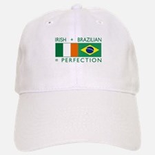 Irish Brazilian flag Baseball Baseball Cap