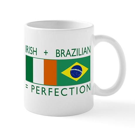 Irish Brazilian flag Mug