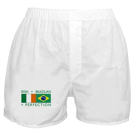 Irish Brazilian flag Boxer Shorts