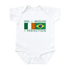 Irish Brazilian flag Infant Bodysuit