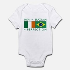 Irish Brazilian flag Infant Bodysuit