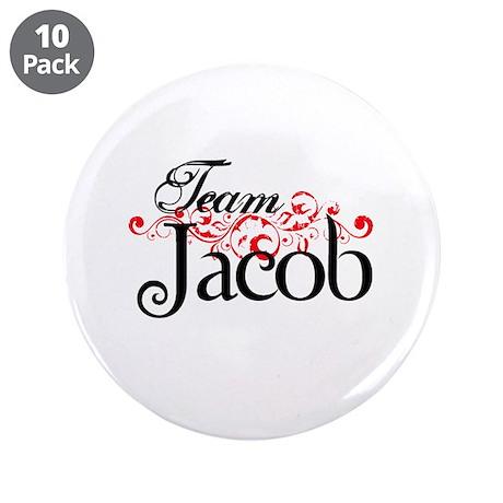 "Team Jacob 3.5"" Button (10 pack)"