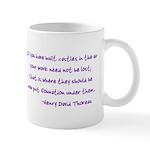 Thoreau's Sunset Mug