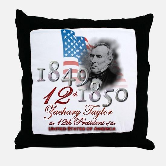 12th President - Throw Pillow