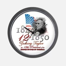 12th President - Wall Clock