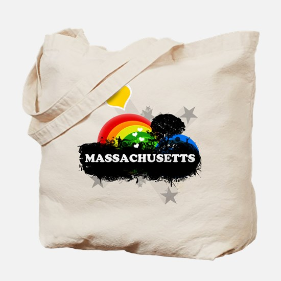 Sweet Fruity Massachusetts Tote Bag