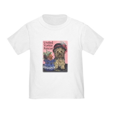 United Yorkie Rescue Toddler T-Shirt