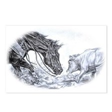 Cutting Horse Postcards (Package of 8)
