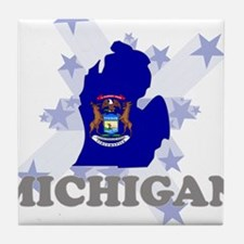 All Star Michigan Tile Coaster