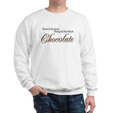 Chocolate Saying Sweatshirt