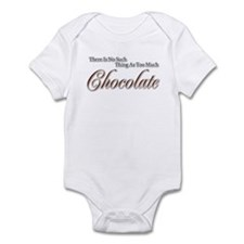 Chocolate Saying Onesie
