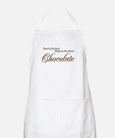 Chocolate Saying BBQ Apron